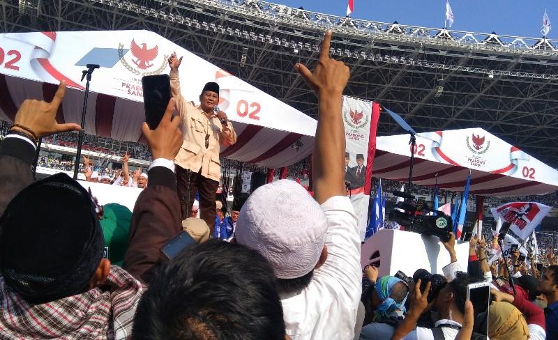 Prabowo Janji Turunkan Tarif Listrik dalam 100 Hari