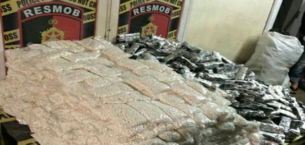 Jutaan Butir Obat PCC Diamankan Polda Sulawesi Selatan