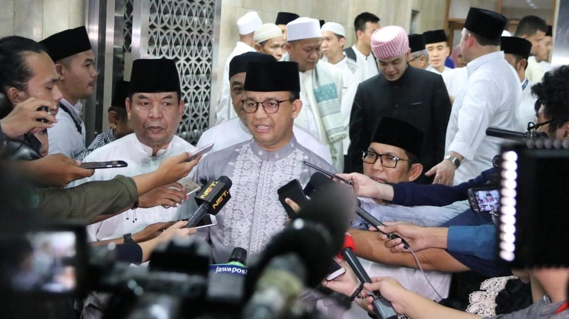 Anies Berharap Penetapan Wagub DKI Setelah KPU Umumkan Hasil Pileg 2019