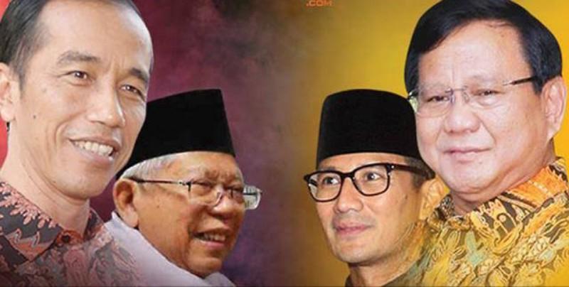 Jokowi-Ma'ruf Amin Kalah Telak di Sorong