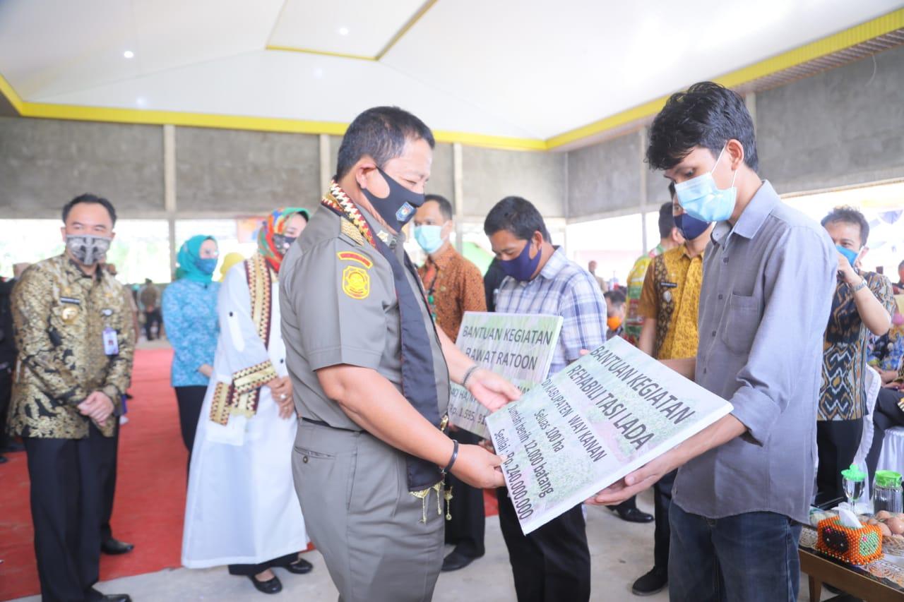 Gubernur Lampung Arinal Djunaidi Pulang Kampung