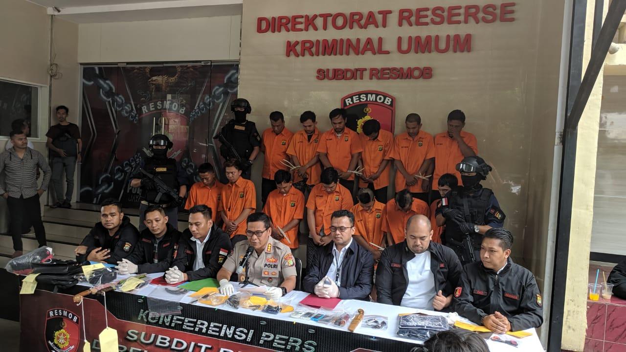 Pelaku Rumsong Kembali ditangkap Resmob Polda Metro