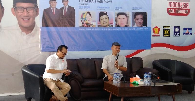 Gangguan Kubu Jokowi Untungkan Prabowo