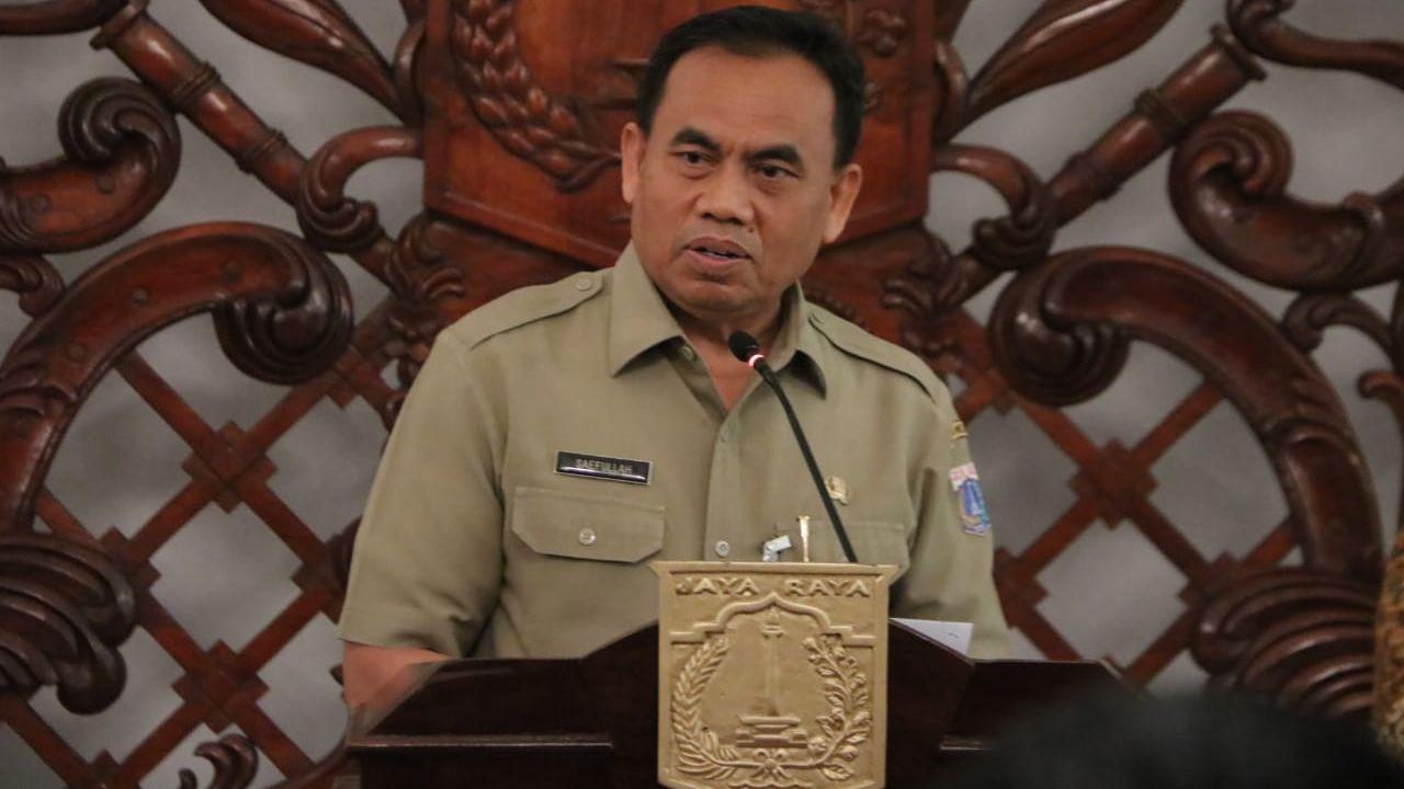 Anies Akui Kerja Keras Sekda DKI Selama Enam Bulan Untuk Menekan Wabah Covid-19
