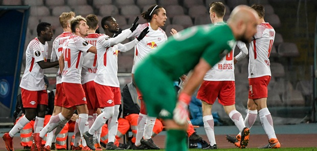 Pecundangi Napoli, Leipzig Berpeluang Lolos ke Babak 16 Besar Liga Europa