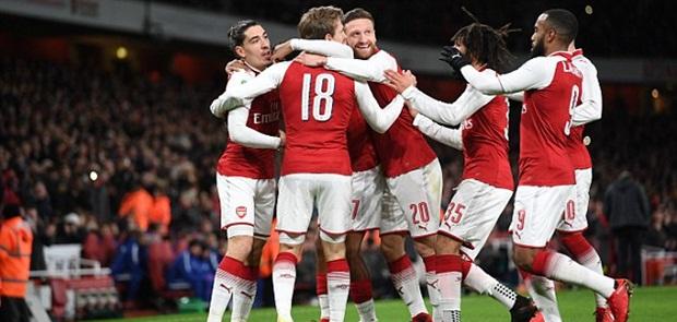 Arsenal Melaju ke Babak Perempat Final Liga Europa