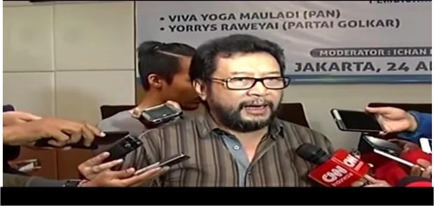 Yorrys Raweyai Dorong Penyelamatan Partai Golkar