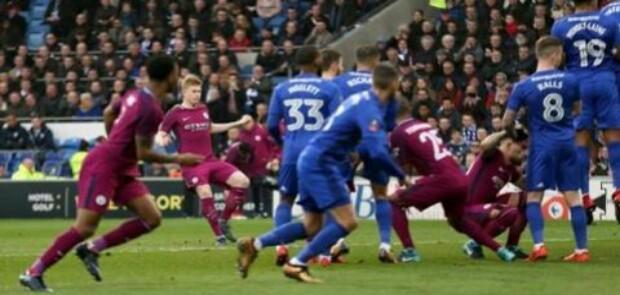 Tundukkan Cardig, Manchester City Melaju ke Babak Kelima Piala FA