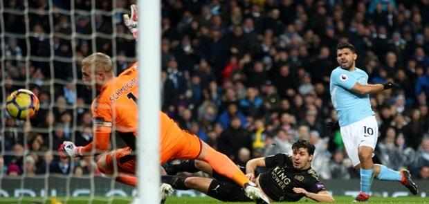 Quat-trick Sergio Aguero Bikin City Cukur Leicester 5-1