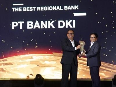 Konsisten Dukung Pemprov DKI Jakarta, Bank DKI Raih Penghargaan BPD Terbaik