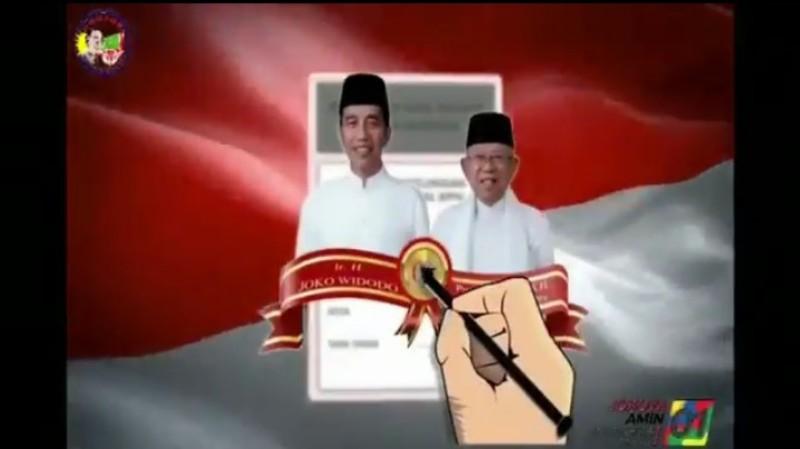 Heboh! TKN Jokowi Diduga Rilis Sosialisasi Pemilu Berbahasa China, Warganet Curiga