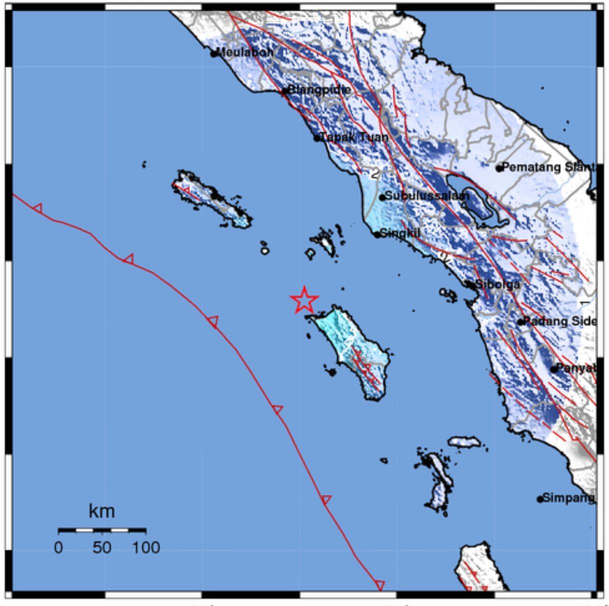 Berhamburan, Warga Nias Kembali Rasakan Gempa 5,1 SR