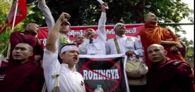 Budha Garis Keras Tolak Pemberian Warga Negara Pada Muslim Rohingya