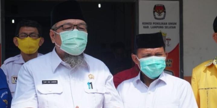 Pilkada Lampung Selatan, Tony Eka Candra-Antoni Imam Nomor Urut 2