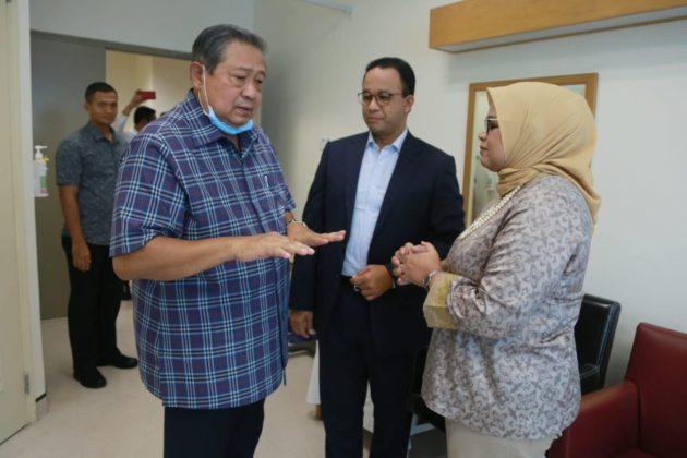 Hari Ini, Anies dan Istri Jenguk Ani Yudhoyono di Singapura