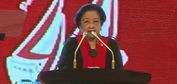 Merasa Lumayan Cantik Megawati Selalu di Sorot Media