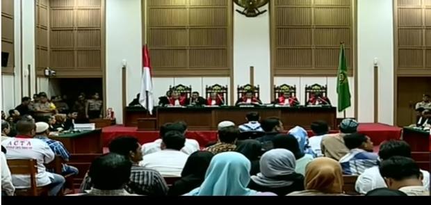 Ahok Divonis 2 Tahun dan Langsung Dijebloskan Dalam Penjara Cipinang