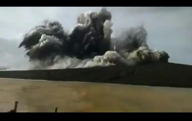 Hari Ini Gunung Anak Krakatau 16 Kali Meletus