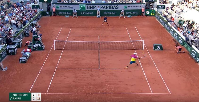 Prancis Terbuka: Nishikori Bertemu Nadal di Perempat Final