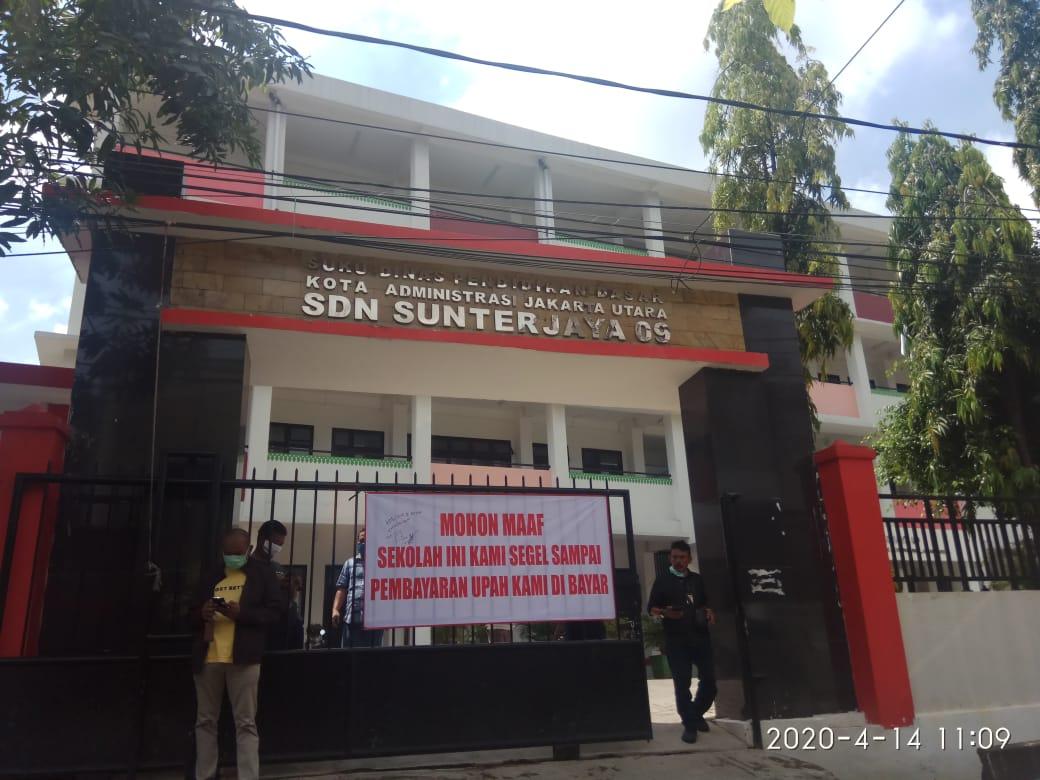 Gedung Sekolah Di Jakarta Utara Disegel Pekerja Proyek, Begini Tanggapan DPRD DKI