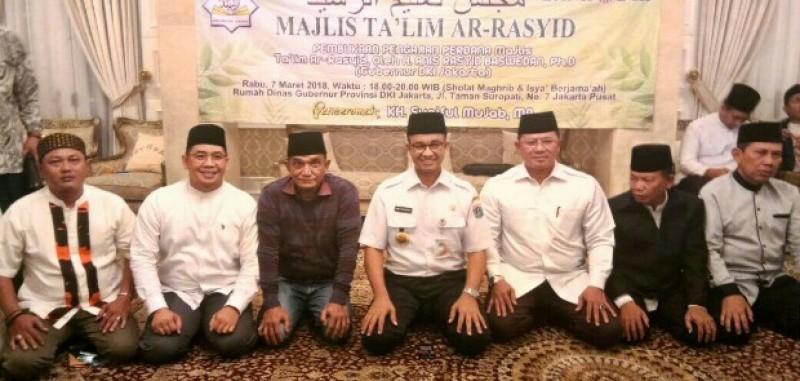 Anies Harap Majelis Ta'lim Ar Rasyid Dapat Berkontribusi Bagi Pembangunan Jakarta