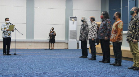 Kukuhkan Anggota Akademi Jakarta, Gubernur Anies Berharap Ibu Kota Jadi Pusat Pemikiran Kebudayaan Dunia