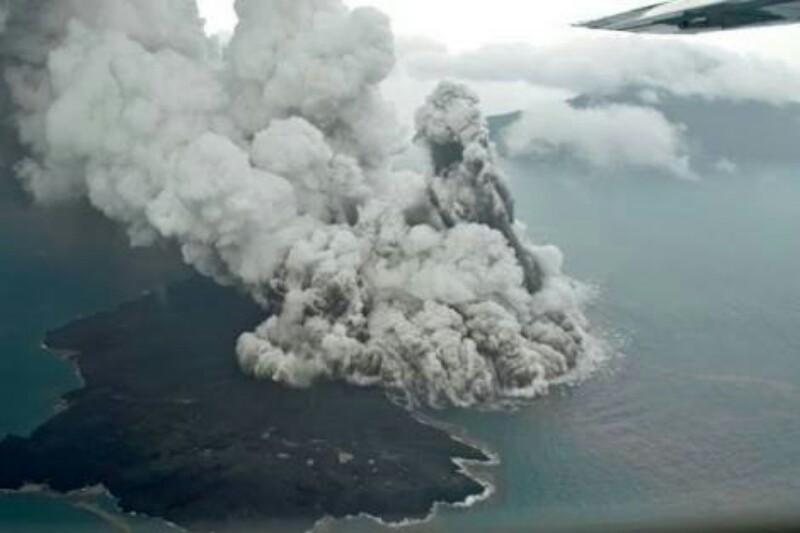 Status Gunung Anak Krakatau Dinaikkan ke Level III atau Siaga