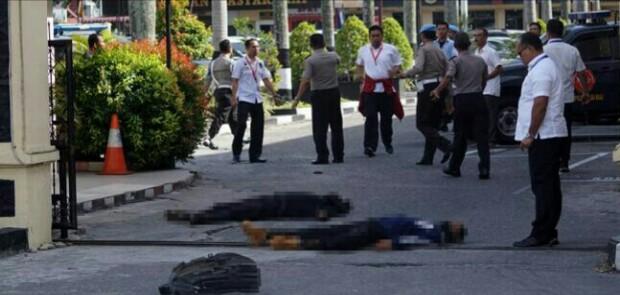 Serangan ke Mapolda Riau, 4 Terduga Teroris dan 1 Polisi Tewas