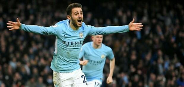 Bernardo Silva Kian Dekatkan City ke Tangga Juara