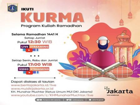Pemprov DKI Jakarta, Siarkan Live Streaming Kuliah Ramadan