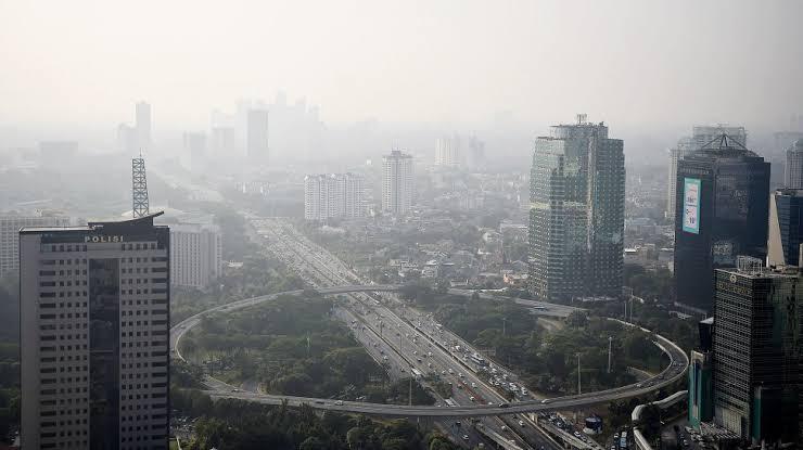 Ngeri ! Jakarta Runner-Up Kota Kualitas Udara Terburuk di Dunia