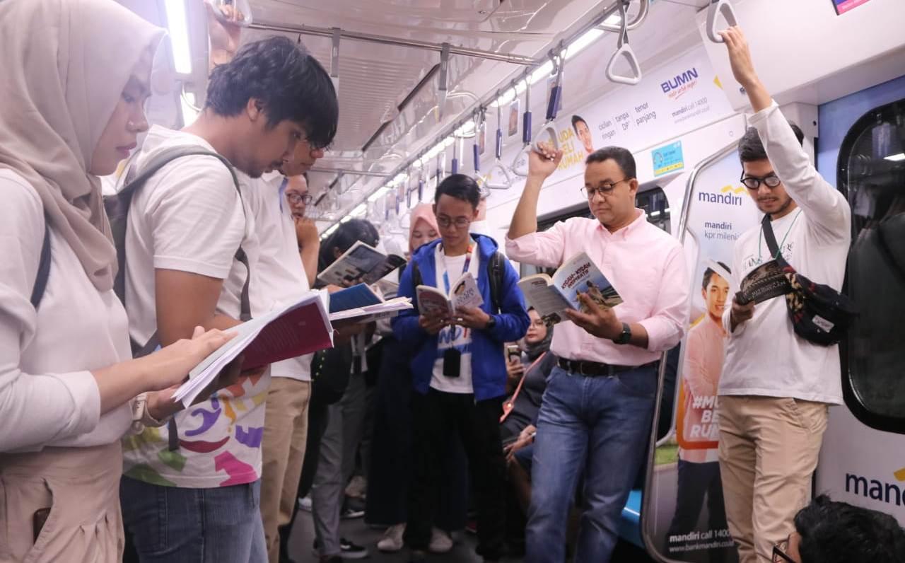 Luncurkan #ruangbacajakarta, Anies Ingin Tingkatkan Literasi Dan Budaya Membaca Masyarakat