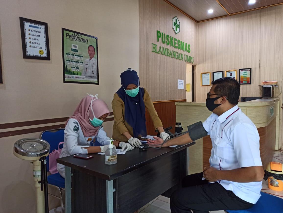 2.465 orang penyelenggara adhoc di Way Kanan Periksa Kesehatan