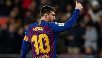 Messi Cetak Gol ke-400, Barcelona Lumat Eibar 3-0