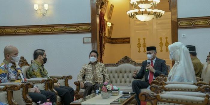 Gubernur Aceh Ajak Bank Syariah Indonesia Bersinergi dengan Bank Aceh Syariah