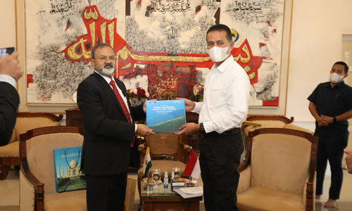 Wagub Sumut Terima Kunjungan Dubes India