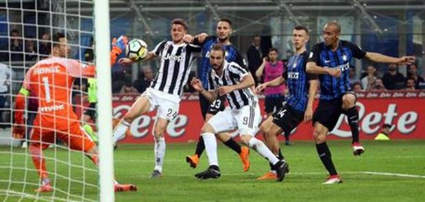 Dramatis, Inter Gagal Tundukkan Juventus di Derby D'Italia