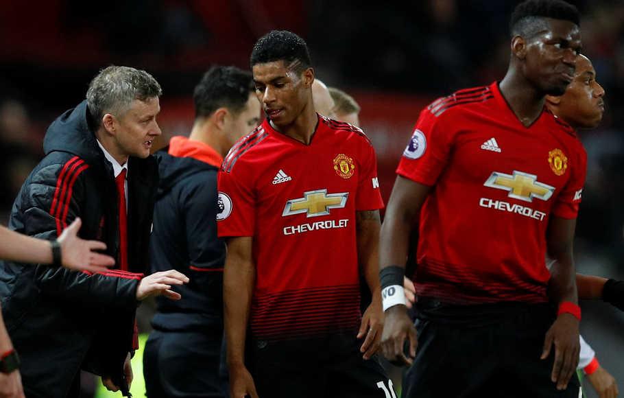 United Libas Brighton 2-1, Ini Kemenangan ke-7 Manajer Solksjaer