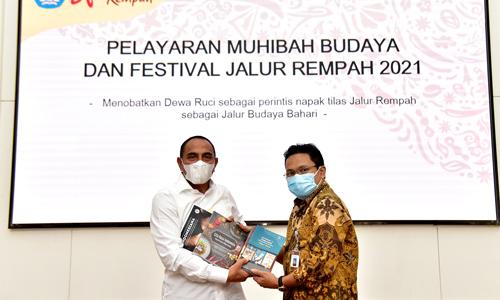 Edy Rahmayadi Dukung Pelayaran Muhibah Budaya dan Festival Jalur Rempah 2021
