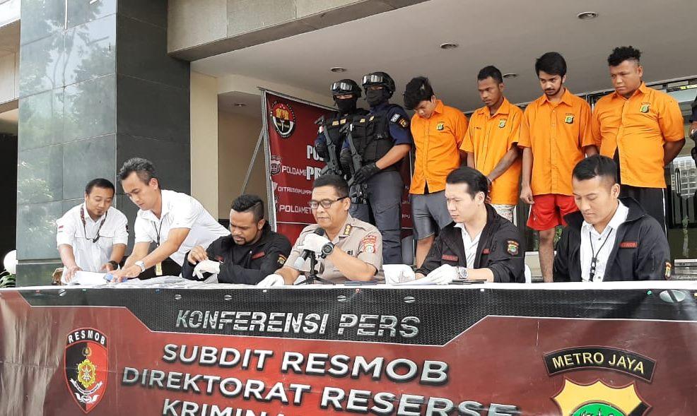 Coba Kabur Buronan di Dor Polisi di Kelapa Gading