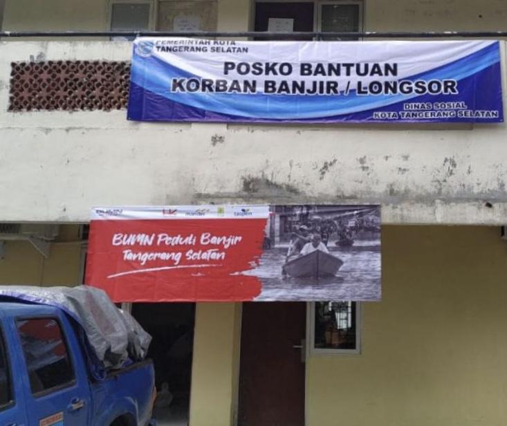 Dinsos Tangsel: Semua OPD All Out Bantu Korban Banjir