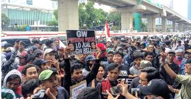 Ribuan Warga Tanjung Priok Desak Kemenkumham Minta Maaf