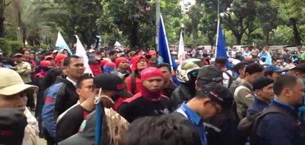 UMP DKI 2018 Ditetapkan Rp 3,648 juta/Bulan, Buruh Tak Puas