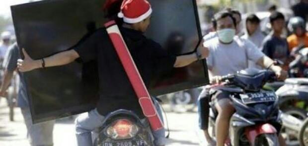 Polisi Tangkap 35 Pelaku Penjarahan di Palu