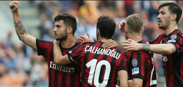 Milan Degradasi Hellas Verona ke Serie B Liga Italia