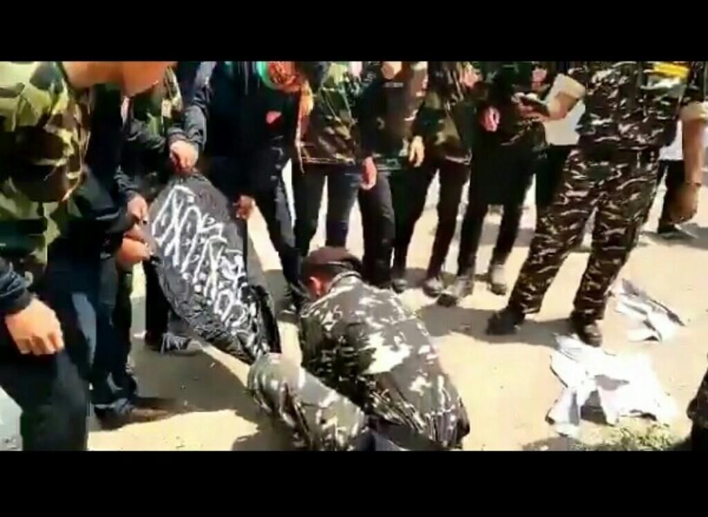 PA 212 Minta Polisi Tangkap Anggota Banser Pembakar Bendera Tauhid
