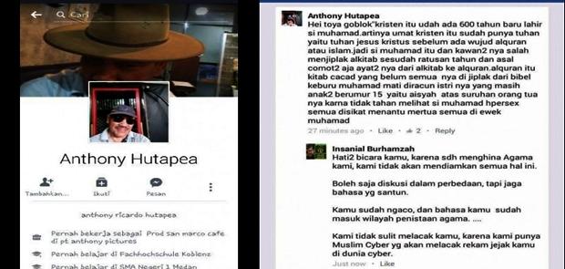 Pengusaha Menistakan Agama Islam Ditahan Polres Medan