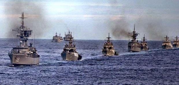 Cina Gelar Latihan Perang Laut Terbesar2018