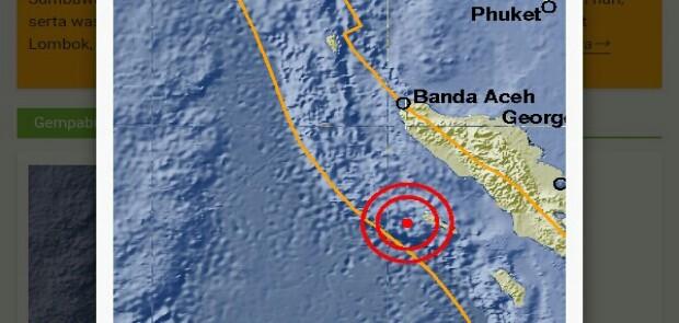 Lebak Kembali Diguncang Gempa, Aceh Ikutan Bergoyang