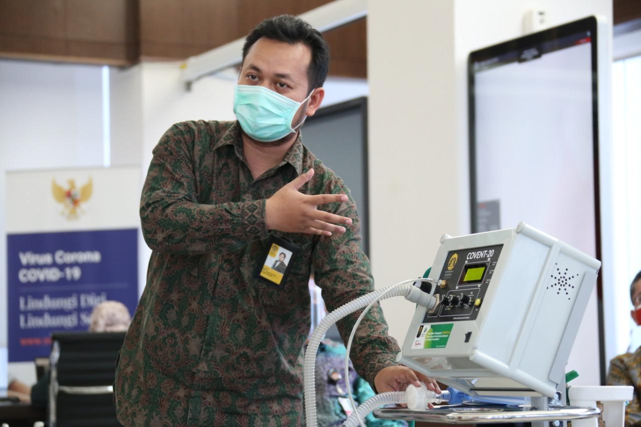 Ratusan Ventilator Lokal Didistribusikan Ke Sejumlah Rumah Sakit
